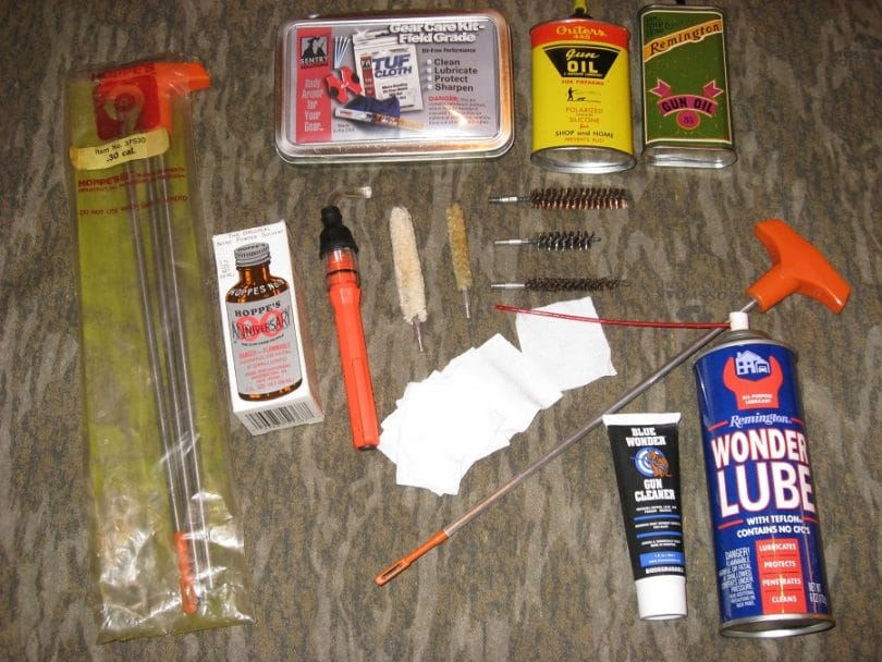 Shotgun-cleaning kit