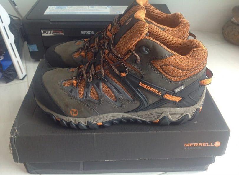 Merrell Women's All Out Blaze Mid Waterproof Hiking Boot