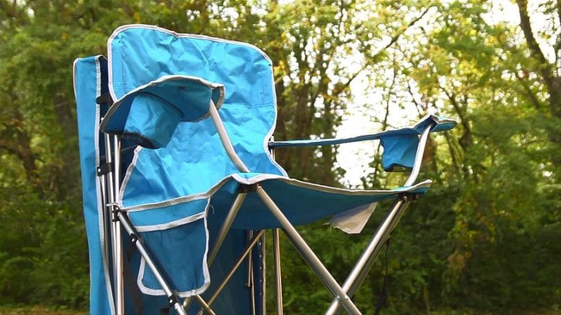 Quik Shade Folding Quad Camping Chair