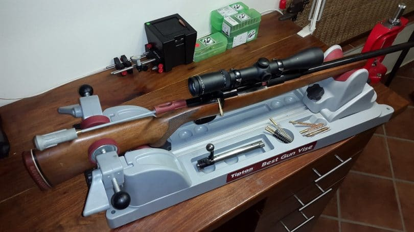 Rifle cleaning