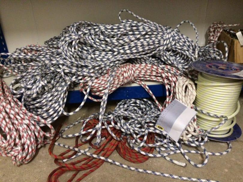 Static climbing ropes