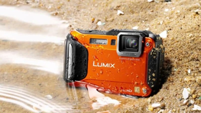 The Panasonic DMC-TS6D