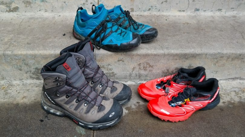 Types of hiking boots