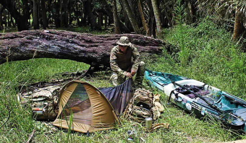 Bug out kayaks tent