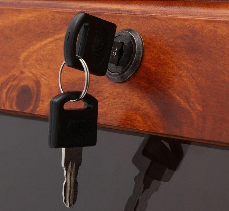 12 Gun Slanted Base Cabinet locking door