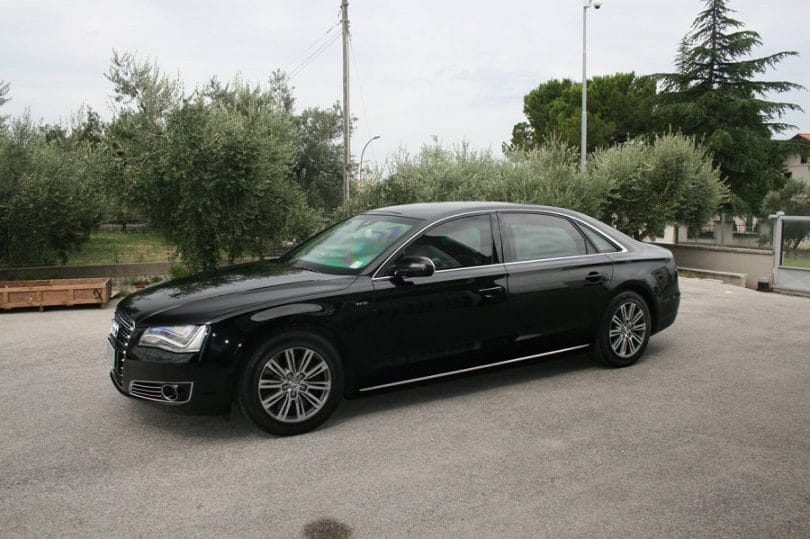 Armored Audi A8