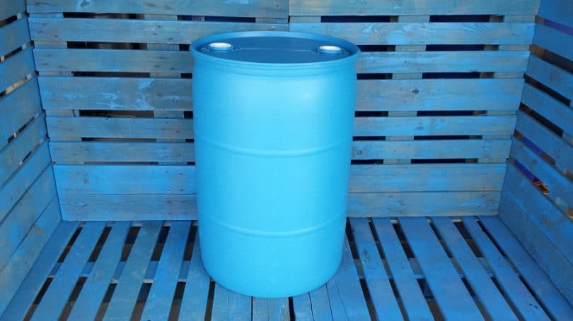 Barrel for ethanol