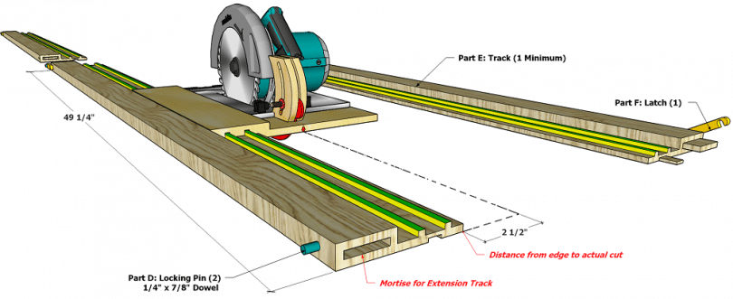 Circular Saw with Riving Knife