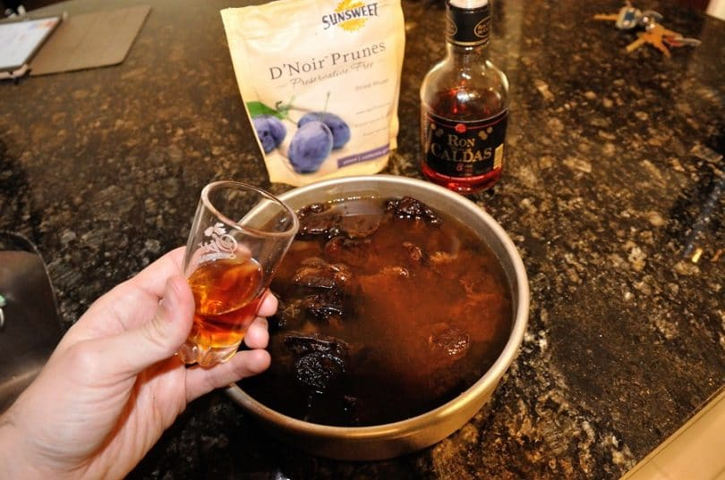 Cooking with rum