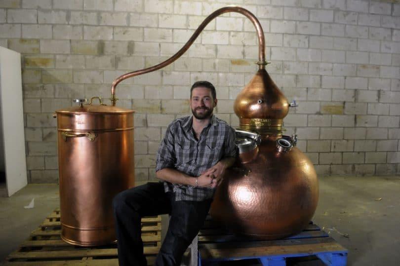 Distillation of rum
