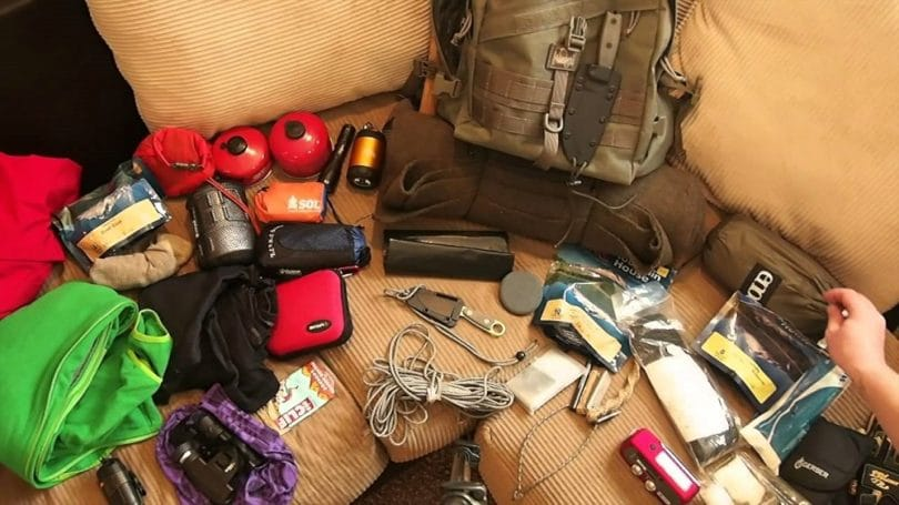 Equipment for winter backpacking