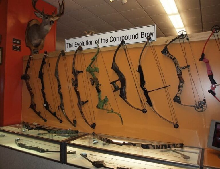 Evolution of compound bow