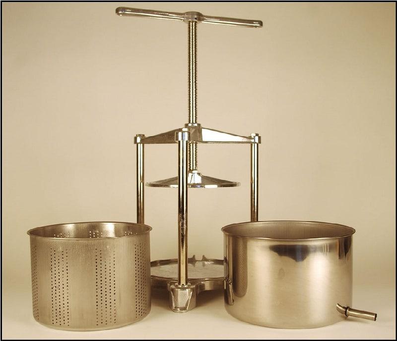 Fruit Press - Italian, 3 Liter, Stainless Steel