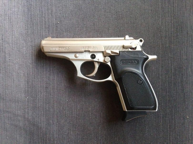 Handgun .22 caliber