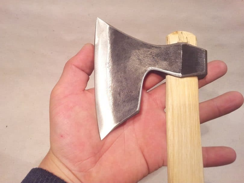 Hatchet in the hand