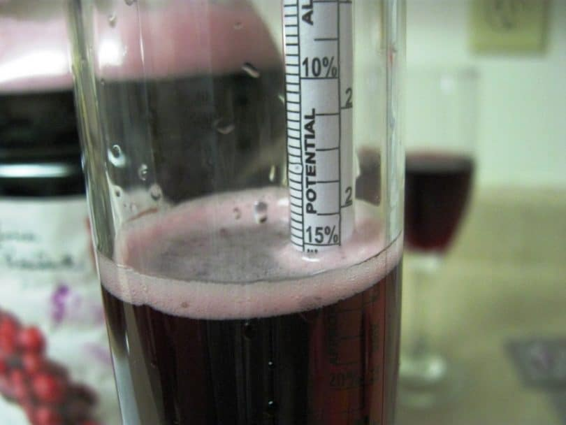 air-lock for making alcohol in beer and wine