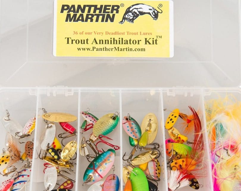 Panther Martin Trout Lure Kit