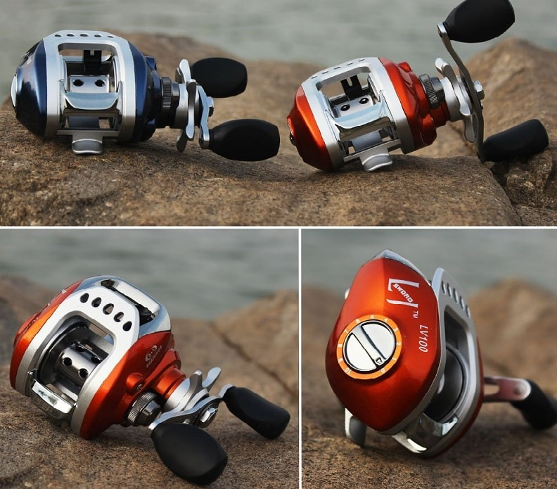 Sougayilang 8+1bb Left Right Hand Baitcast Reel