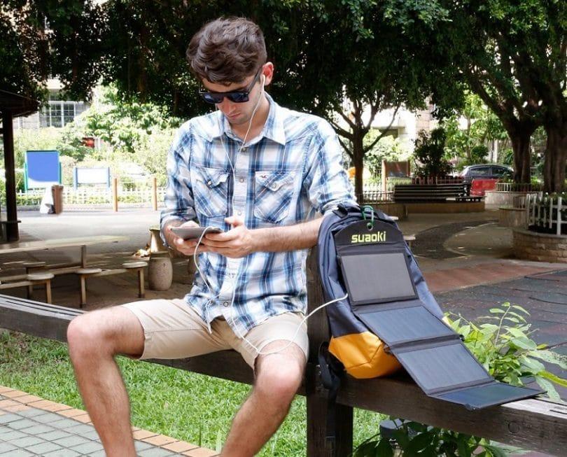 Suaoki Portable 25 W Solar Charger