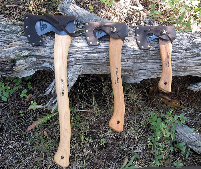 Survival Hatchets in the wild