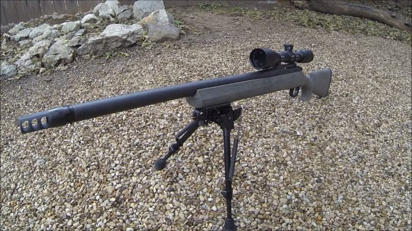 The Remington Model 700 SPS Tactical