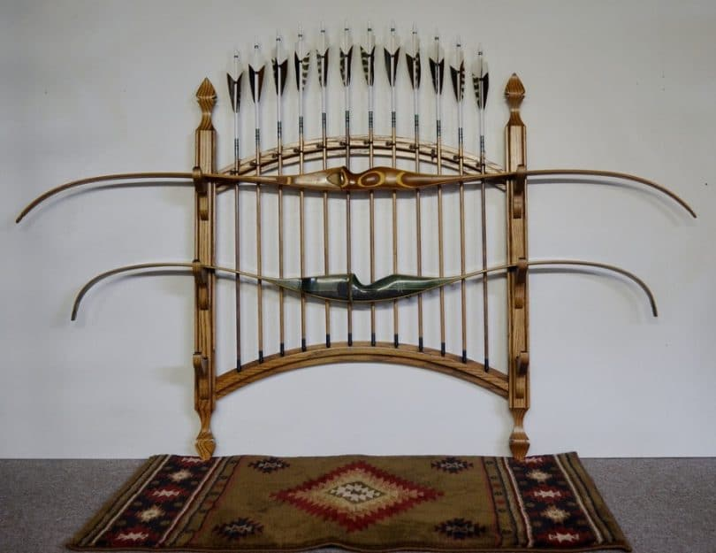 Two Bow, 12 Arrow Bow Rack