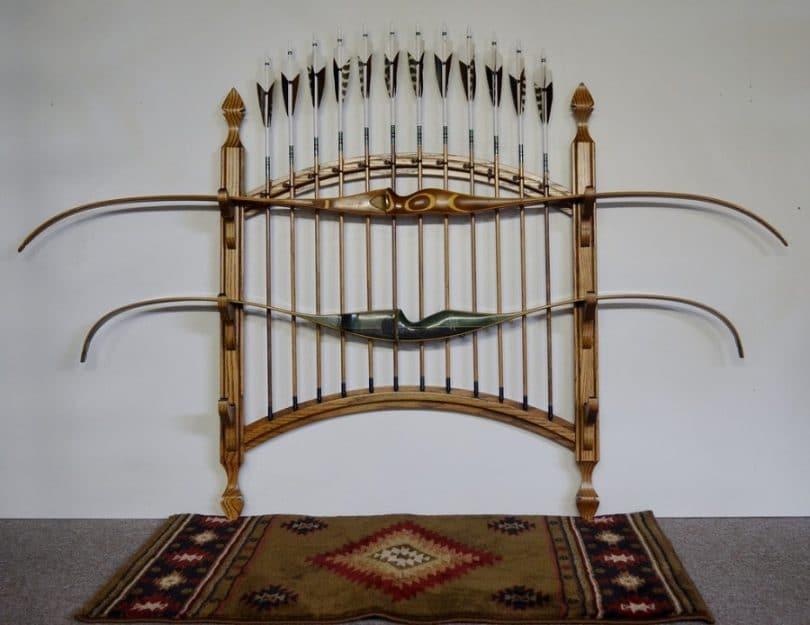 Two Bow, 12 Arrow Bow Rack