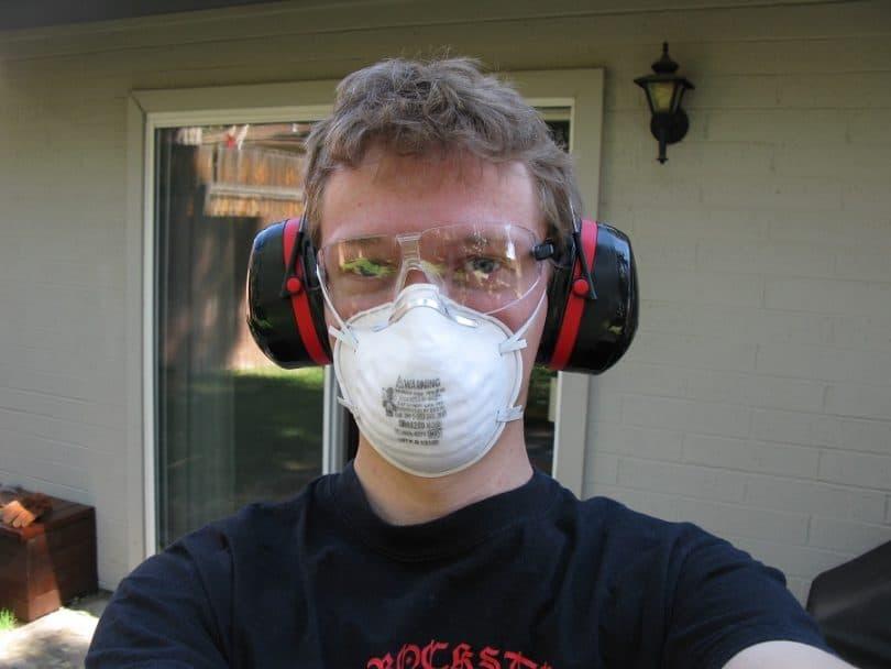 Wear protective gear!