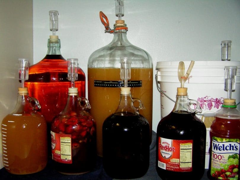 Fruity alcohol ingredients