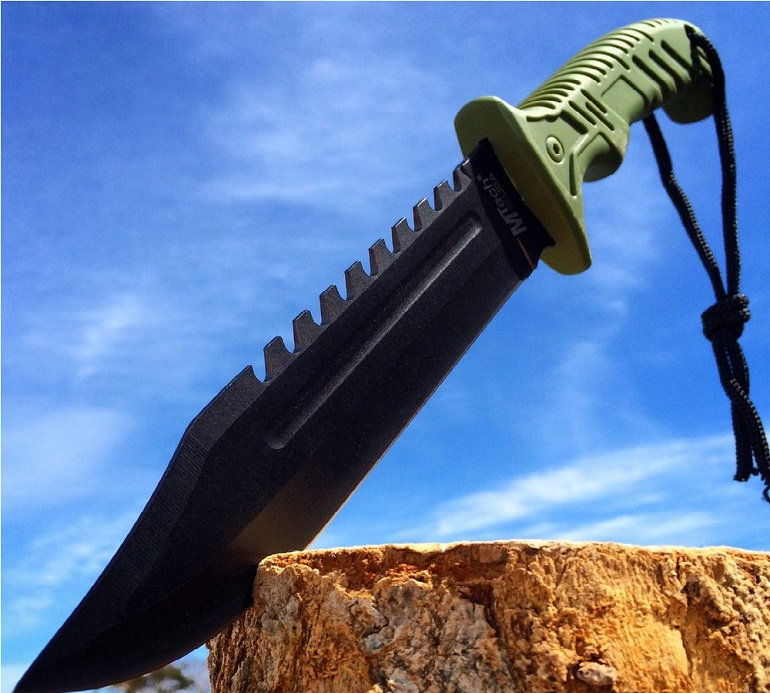 13 TACTICAL SURVIVAL Rambo Hunting FIXED BLADE KNIFE