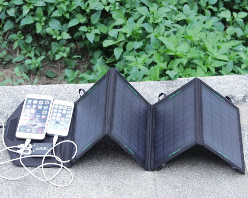 14 Watt 5 Volt Foldable Portable Solar Panel
