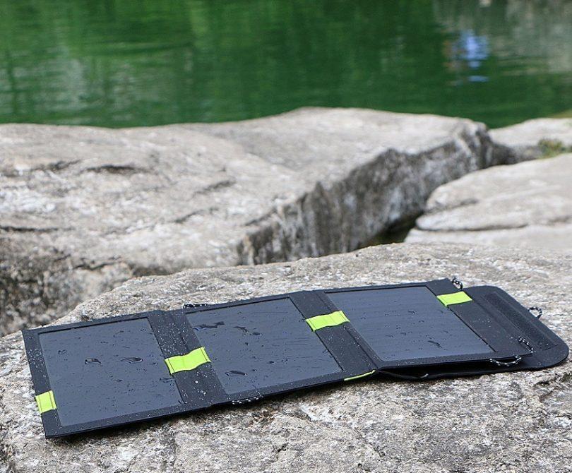 20W Solar Portable Panel with iSolar Technologies