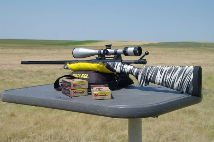.220 Swift rifle