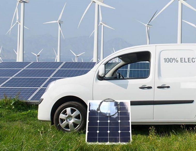 ALLPOWERS 50W Bendable Sunpower Solar Panel