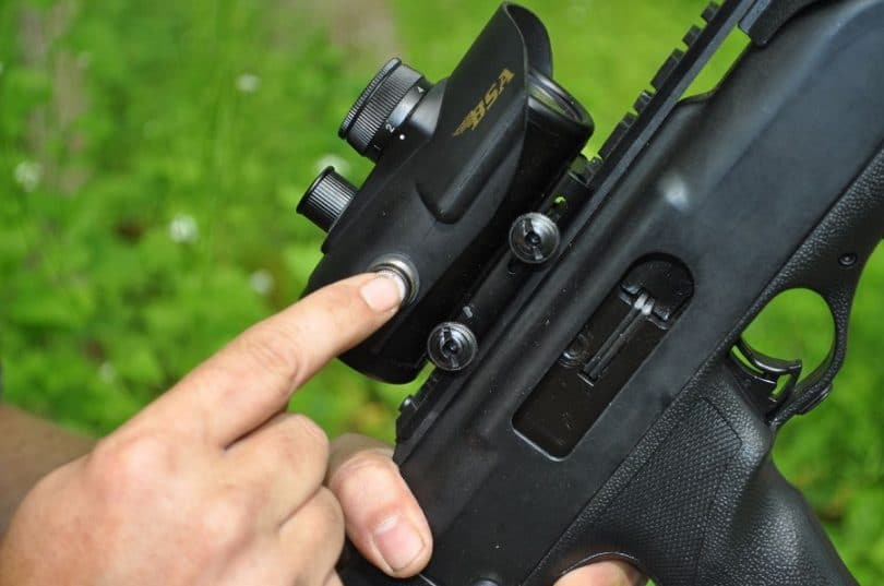 BSA 30 mm Red Dot Scope with 5 MOA