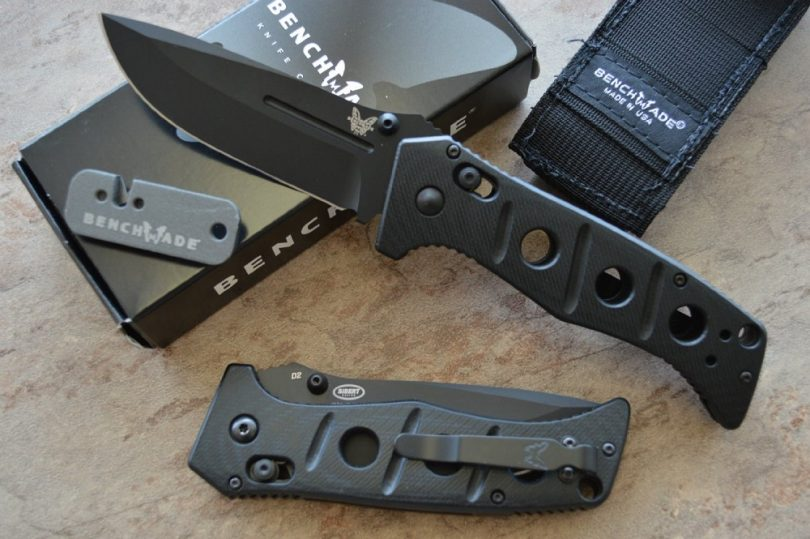 Benchmade 275BKSN Plain Edge Black Coated Blade