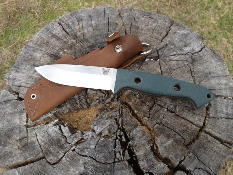Benchmade Bushcrafter knife