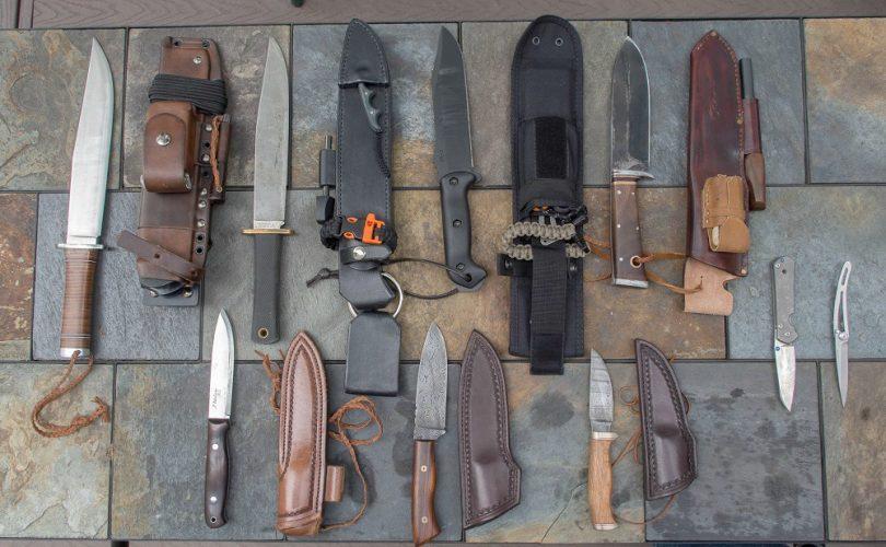 Best Bushcraft knives on the ground