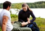 Camping wound treatment