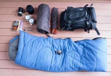 Camping checklist gear