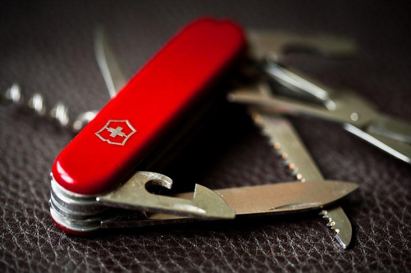 Classic Swiss Pocket Knife