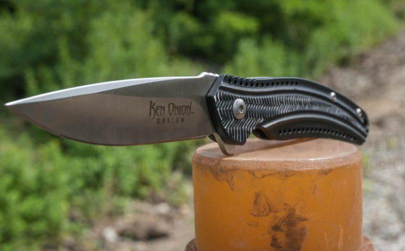 Columbia River Knife and Tool K410KXP Ken Onion Ripple-Aluminum Razor Edge Knife