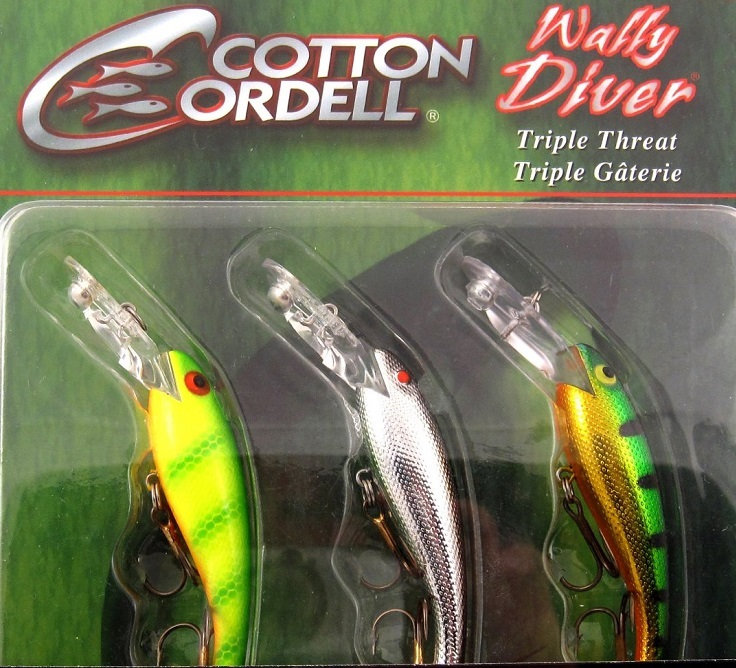 Cordell Wally Diver Triple Threat