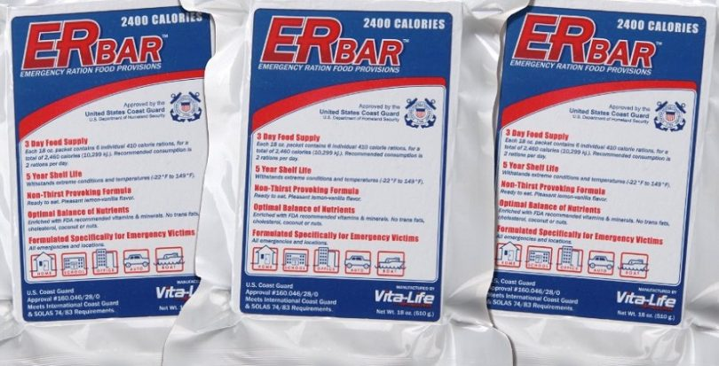 ER Emergency Ration 2400 Calorie Emergency Food Bar