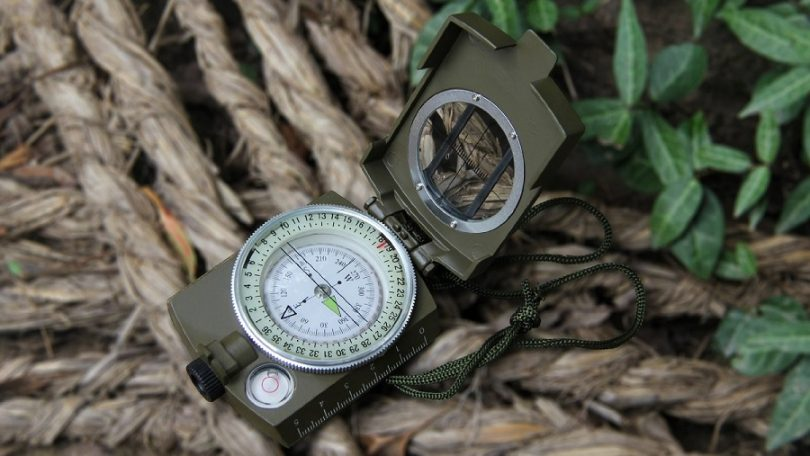 Eyeskey Metal Multifunction Military Optical Lensatic Sighting Compass