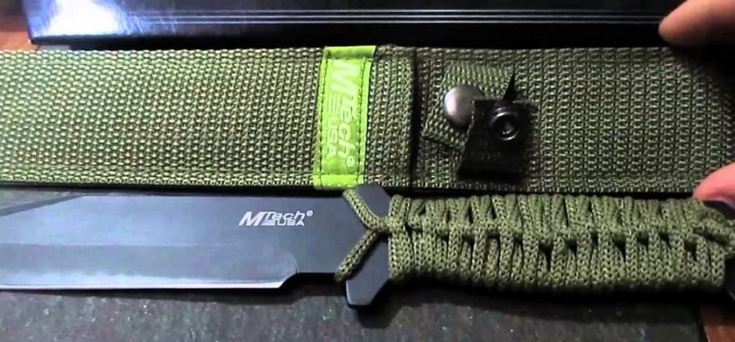 MTECH USA MT-528C Fixed Blade 10.5-Inch Knife