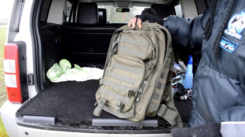 Mil-Tech's 36 Liter Tactical Backpack
