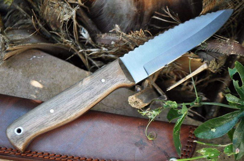Outstanding Value Handmade Bushcraft Knife 01 Carbon Steel