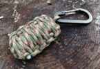 Paracord survival grenade ready