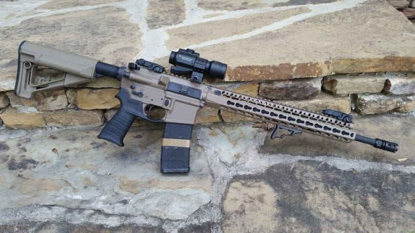 Red dot scope on AR15